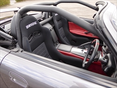 S2000 クロモリ4点式シームレスロールバーパッド仕様